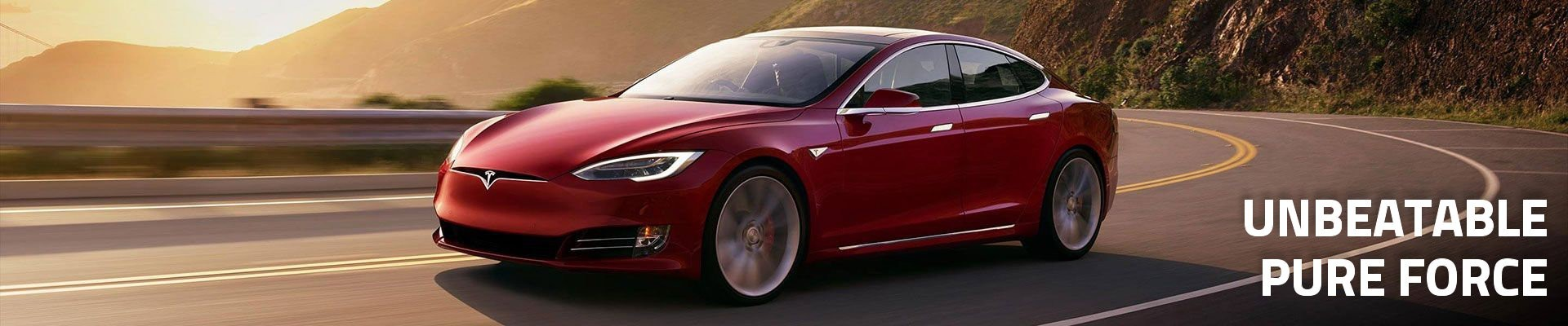 Electric car Tesla P100D