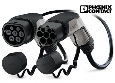 PHOENIX CONTACT cable de carga TIPO 2 | 20A | 1phase | 5kW | 5m