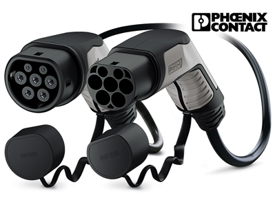 PHOENIX CONTACT cable de carga TIPO 2 | 32A | 3phase | 22kW | 4 - 5 - 7 m