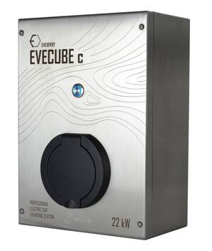 EVECUBE C - 22kw AC charging station  (OCPP 1.6 + Smart WebServer + consumption measurement + WiFi)
